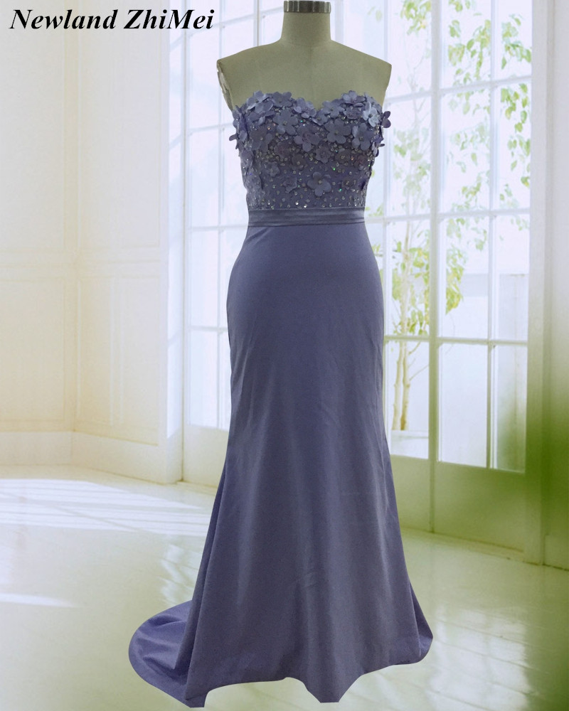 Whole Sale   Bridesmaid     Dresses   Special Personalized Sweetheart Beaded Flower Satin Party   Dress   Custom Made