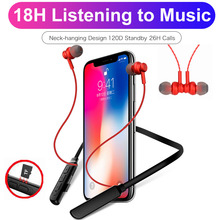 Magic Music sport bluetooth headphones neckband wireless earphones with TF card slot MP3 MIC  for phone tablet pc