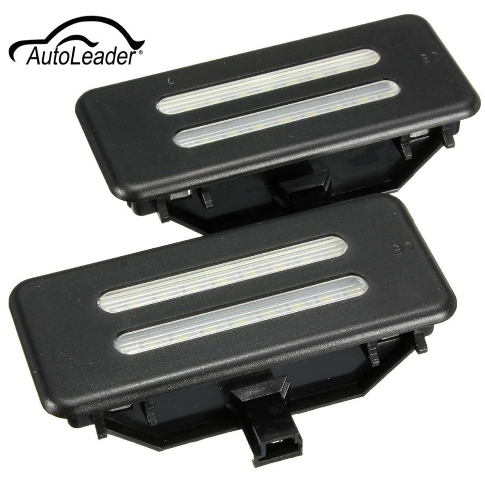 1 пара универсальный 12В тщеславия зеркало козырек светодиодные лампы бесплатно БМВ Е60 Е90 Е70 е71 ошибка E84 f25 привод датчика 6000К