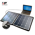 ALLPOWERS Outdoors Solar Phone Charger 5V/18V 100W Portable Solar Laptop Charger Portable Solar Car Battery Charger.