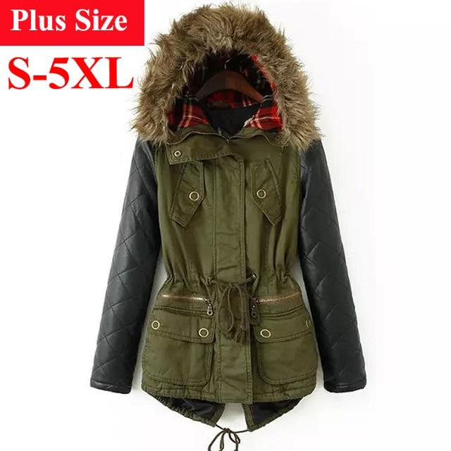 Aliexpress.com : Buy Winter Jacket Women 2017 Parka Plus Size ...