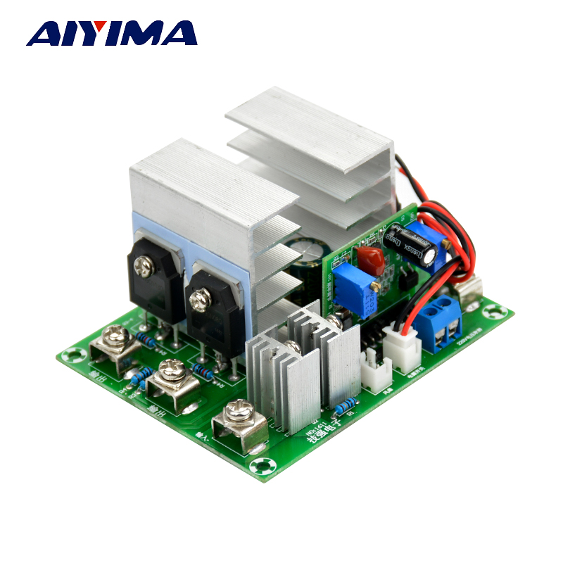1PC inverter 12v to 220V sine wave inverter Driver board 500W with voltage regulator 1pc used s inverter board a5e00296878 zl02
