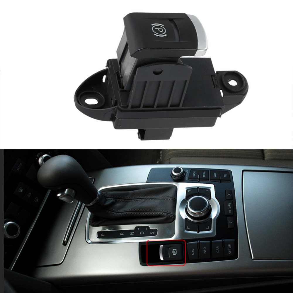 Car Hand Brake Switch Parking Stop Button for Audi A6 L2.4 4F1927225C