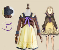 Game SINoALICE Sleeping Beauty Lolita Uniform Adult Girl Dress Skirt Cosplay Costume Halloween Carnival Free Shipping