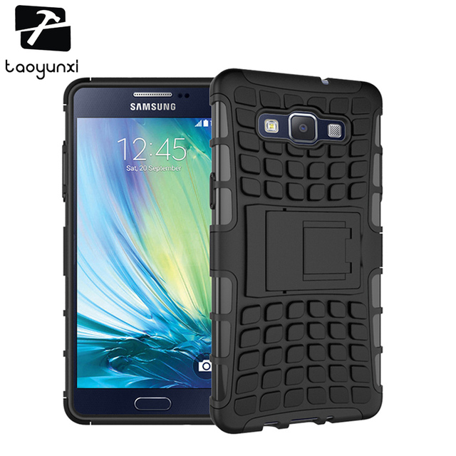 competitive price b9884 bb189 US $3.14 30% OFF|Kickstand Case Cover For Samsung Galaxy A5 2014 Case A500H  A500 5.0 inch A5000 A500F A5009 A500M A500G A500FU Case 2 in 1 Hybrid-in ...