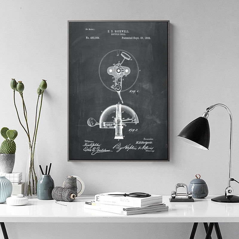 Bicycle Bell Paint Art
