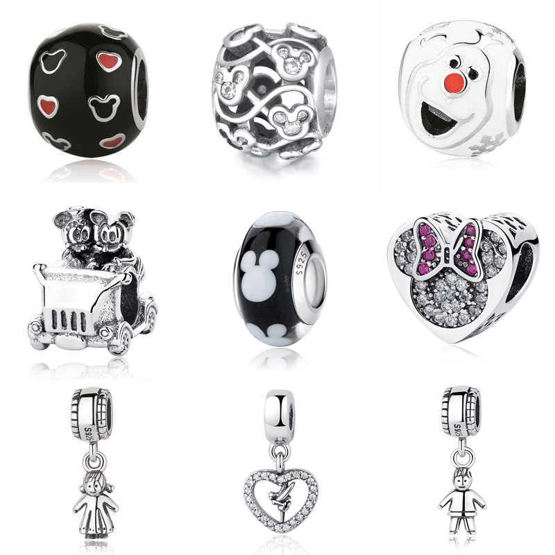 ed81d031a Authentic Sterling Silver 925 Charm Fit Pandora Original Bracelet Diy Charms  Beads Fairy Tale Cute Boy