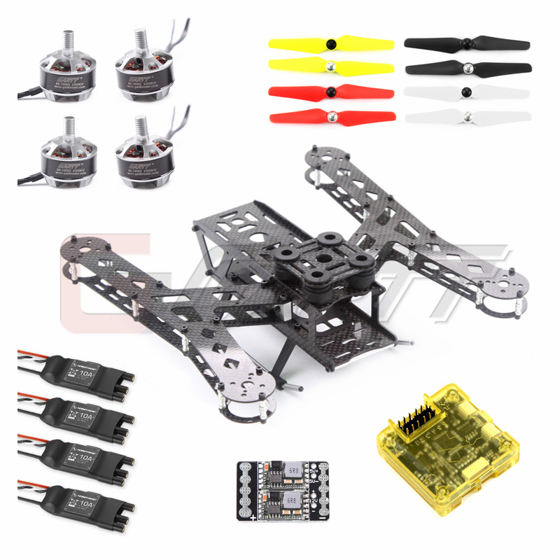 PLUTO-X2.5 Interstellar 250 Carbon Fiber Mini 250 FPV Quadcopter Frame Kit COMBO RC drone carbon fiber mini 250 rc quadcopter frame mt1806 2280kv brushless motor for drone helicopter remote control