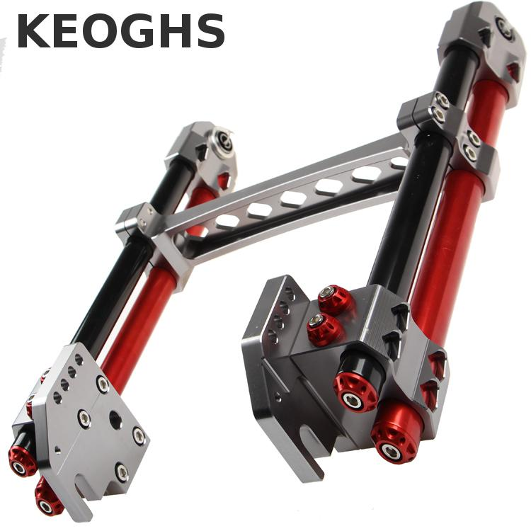Keoghs Motorcycle High Quality Personality Swingarm/swinging Arm/rear Fork All Cnc For Yamaha Scooter Bws Cygnus Honda Modify motorcycle cnc aluminum mudguard rear fender bracket license plate holder light for yamaha yzf r25 r3 yzf r25 yzf r3