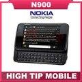 Nokia N900 оригинал разблокированный телефон Поддержка QWERTY Русская клавиатура GSM 3 Г GPS WI-FI 5MP 32 ГБ памяти бесплатная доставка Восстановленное