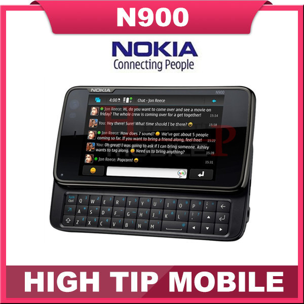 Nokia N900 original unlocked phone Support QWERTY Russian keyboard GSM 3G GPS WIFI 5MP 32GB memory