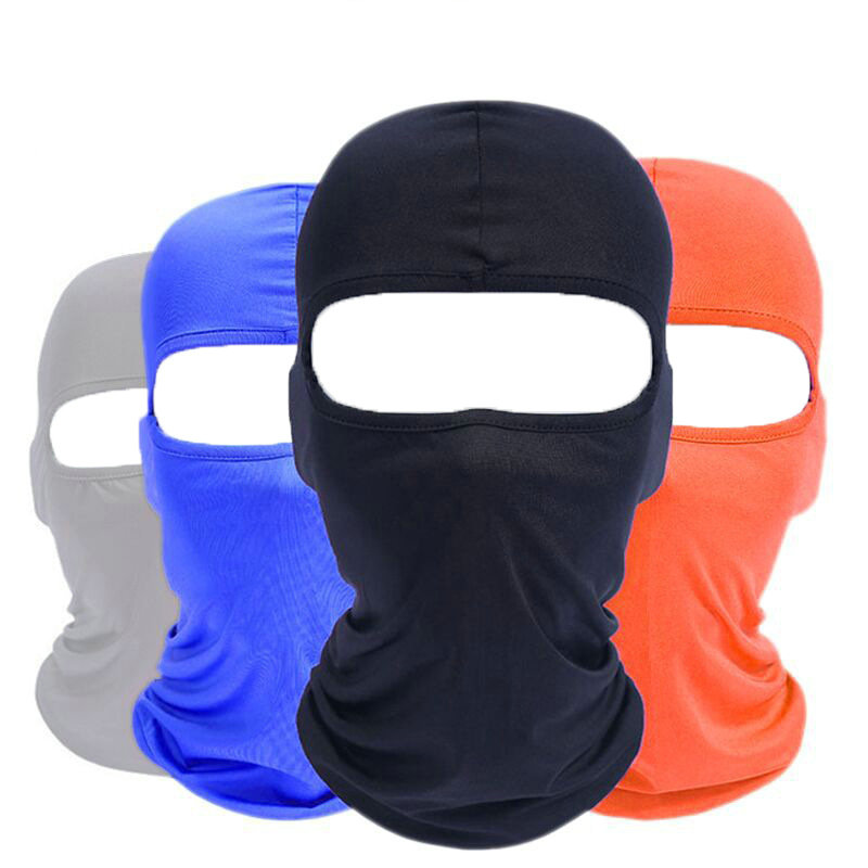 Home New Adult Skiing Mask Thermal Balaclavas Scarf Cycling Hiking Fleece Warm Full Face Windproof Cycling Mask 41cm Ski Mask