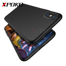 XPOKO Luxury Matte Soft Ultra-thin Back Full Case For iPhone X 10 Case TPU Protective Shell Cover For iPhone X Case