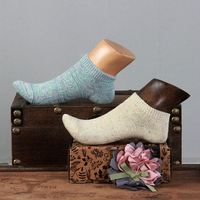 Shoes socks display mannequin wooden child foot mannequin