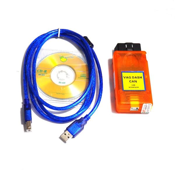 Good Quality VAG Diagnostic Scanner VAG DASH CAN V5.17 VAG DASH V5.17 VAG DASH CAN USB Interface Odometer Correction