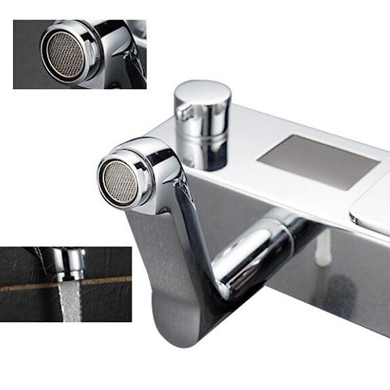 Intelligent Temperture Digital Display Shower Mixer Faucet Water ...