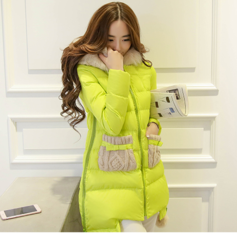 Winter Jacket Women Long Fur Hooded Winter Coat Women Cotton Padded Jacket Parka Cloak Womens Winter Jackets And Coats A3860