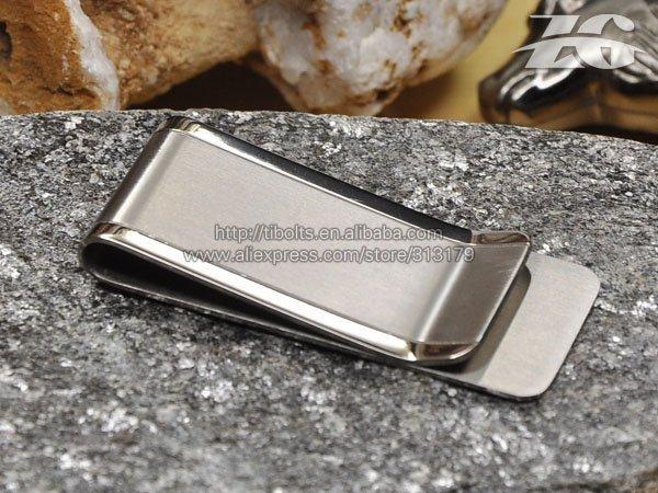 Titanium Metal Money Clip