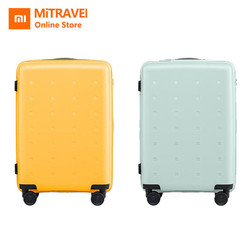 Original Xiao mi mi Jugend Version Koffer 20 zoll 36L TSA Schloss Spinner Rad Tragen Auf Gepäck Fall Im Freien Reise