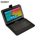 XGODY T93Q 9 polegada Tablet PC Android 4.4 AllWinner A33 Quad Core 1.3 GHz 512 MB RAM 16 GB ROM WiFi + Keyboard Case + 16 GB TF cartão