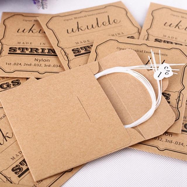 Nylon Ukulele Strings 4 pcs/Set