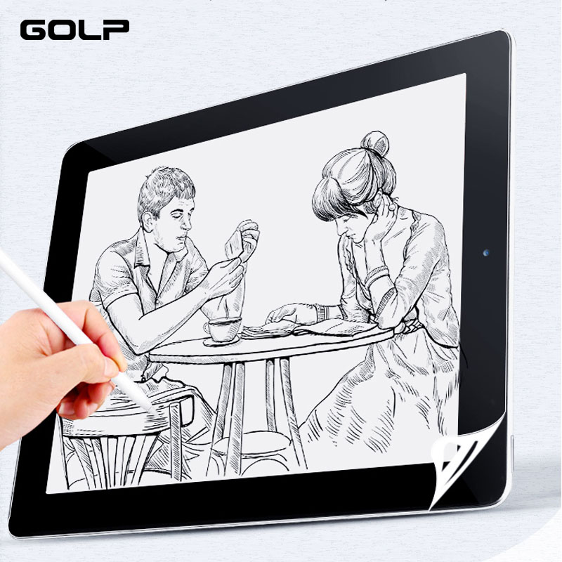 Paper-like Screen Protector Film For IPad Pro 11 12.9 2020 , Matte PET Anti-glare Painting Film For IPad Air 3 10.5 10.2 2019