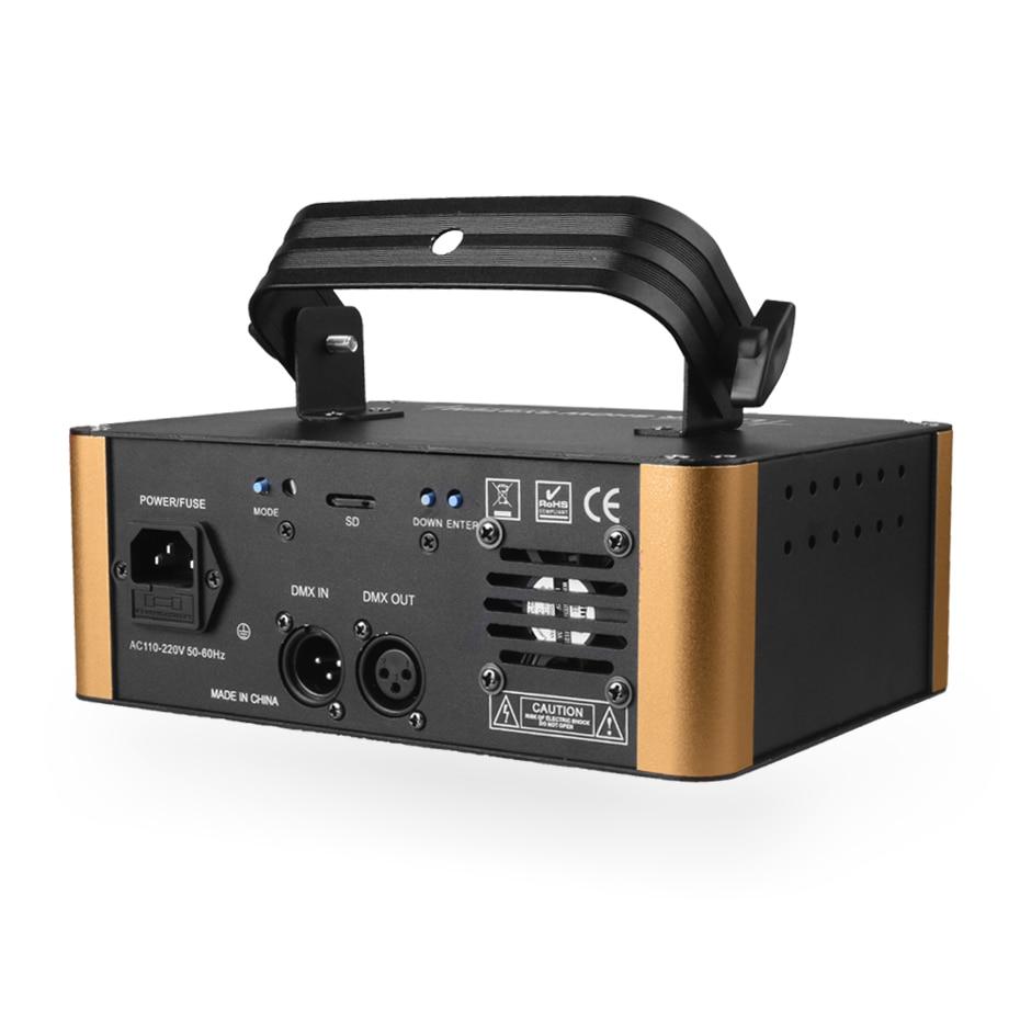 Projecteur Laser d'animation de carte d'alien 500mW rvb DMX SD PRO DJ effet d'éclairage de scène de Disco Scanner de barre de Club de vacances de mariage - 3