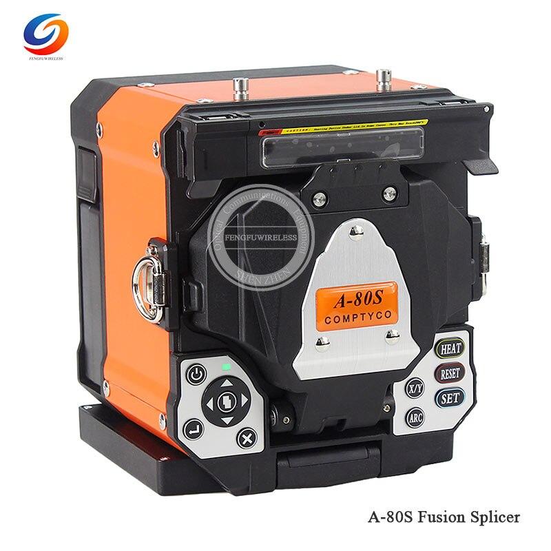 Хорошее качество A-80S оранжевый автоматический волоконно-оптический сварочный аппарат для сращивания - Цвет: Orange Machine