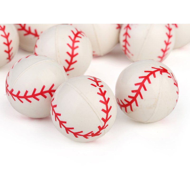 10pcs 30mm Bouncy Ball High Child Elastic Rubber Ball Children Of Pinball Outdoor Toys Baseball