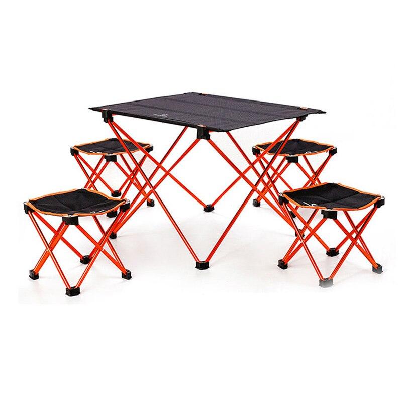 Портативный складной DIY стол стул стол Кемпинг барбекю Туризм Путешествия Открытый Пикник 7075 Алюминиевый сплав ультра легкий M L|Уличные столы|   | АлиЭкспресс