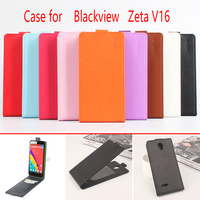 Lingmao For Blackview Zeta V16 Phone Case Pure Color [Up-down Open] Vertical Flip Premium PU Leather Wallet Case Cover