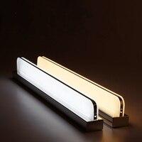 AC 220V 7W/12W Mirror light Waterproof Wall lamp for toilet Dressing room bathroom indoor lighting EU plug