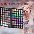 40 Цветов Специальный Палитра Теней Для Макияжа Долгое Матовая Жемчужина Мерцание Теней Comestic Макияж Тени Для Век Палитра