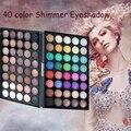 40 Colores Paleta de Sombra de Maquillaje de Larga Duración Especial Perla Mate Shimmer Sombra de Ojos Comestic Maquillaje Paleta de Sombra de ojos