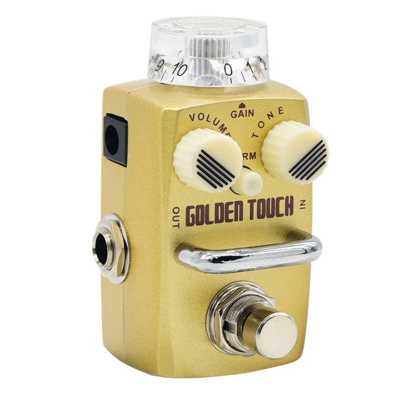 Hotone Skyline Golden Touch Overdrive Effect Pedal SOD 3