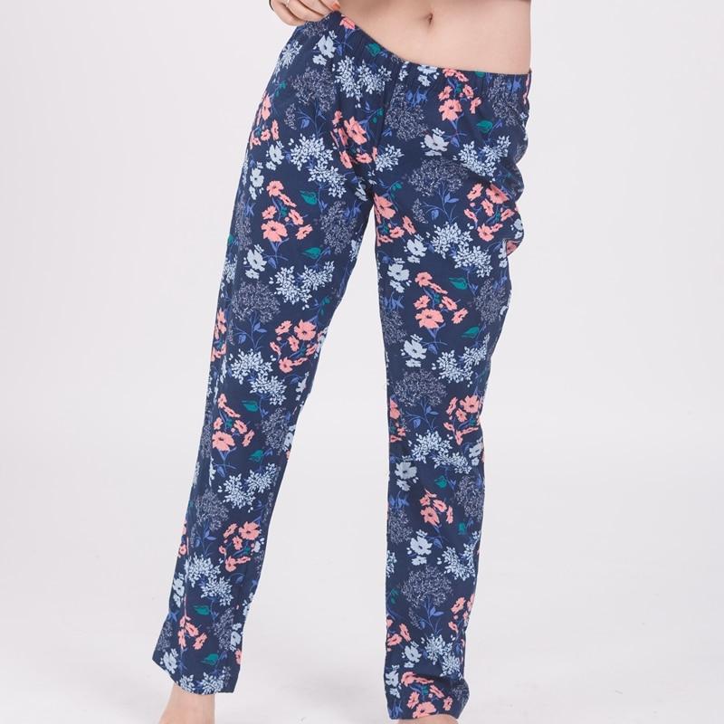 Free shipping,Plus size woman comfortable Sleep Bottoms,women cotton  pajamas pants,thin loose home trousers femme 50-90kgs