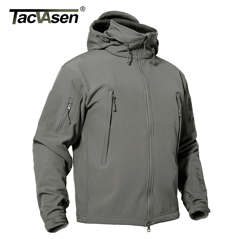 Tiger Force Plus Size Men Spring Jacket Thick Parka Men s Solid Jacket Male Hooded Puffy