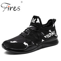Fires Male Running Sneakers High Quality Sport Shoes Trend Breathable Walking Shoes Zapatillas Mens Deportivas Run Outdoor Shoes