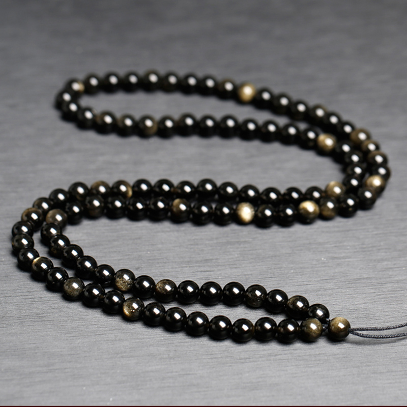 Wholesale Diy Jewelry Natural Stone Pendant Charm Full Beads Chain Accessories 6 Styles Handmade Bead Chain Long Rope Necklace