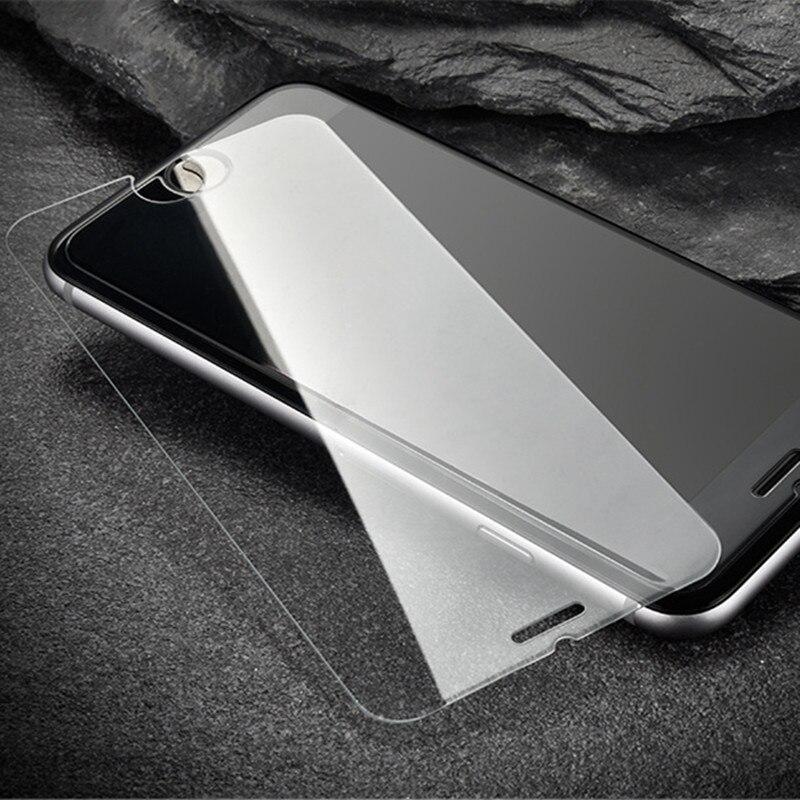 Cristal Tempado Screen Protector Tempered Glass Verre Film for iPhone X 8 7 7 Plus 6 6S 6G Plus 5 5S 5G 4 4S 4G Adhesive Film
