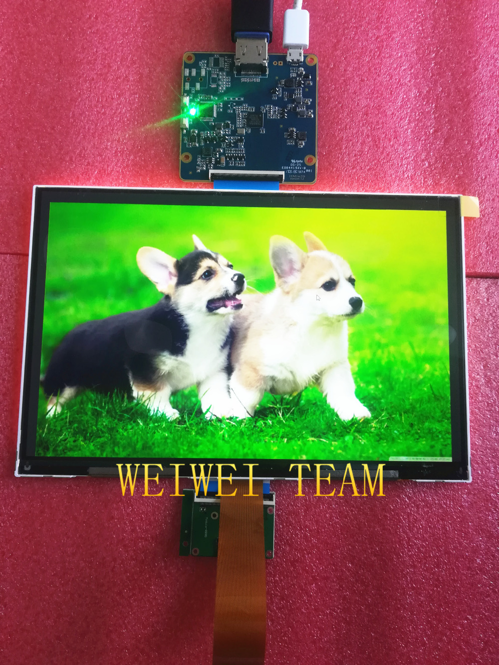 100% tested 8.9 inch LCD display module 2K 2560*1600 MIPI interface HDMI driver board 1200:1 C/R 60Hz display screen