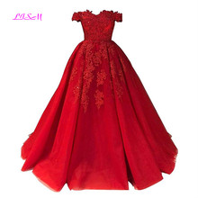 Princess Red Quinceanera Dress with Lace Applique Boat Neck Sweet 16 Dress Plus Size Sleeveless Masquerade Ball Gown Prom Dress plus two tone lace applique dress