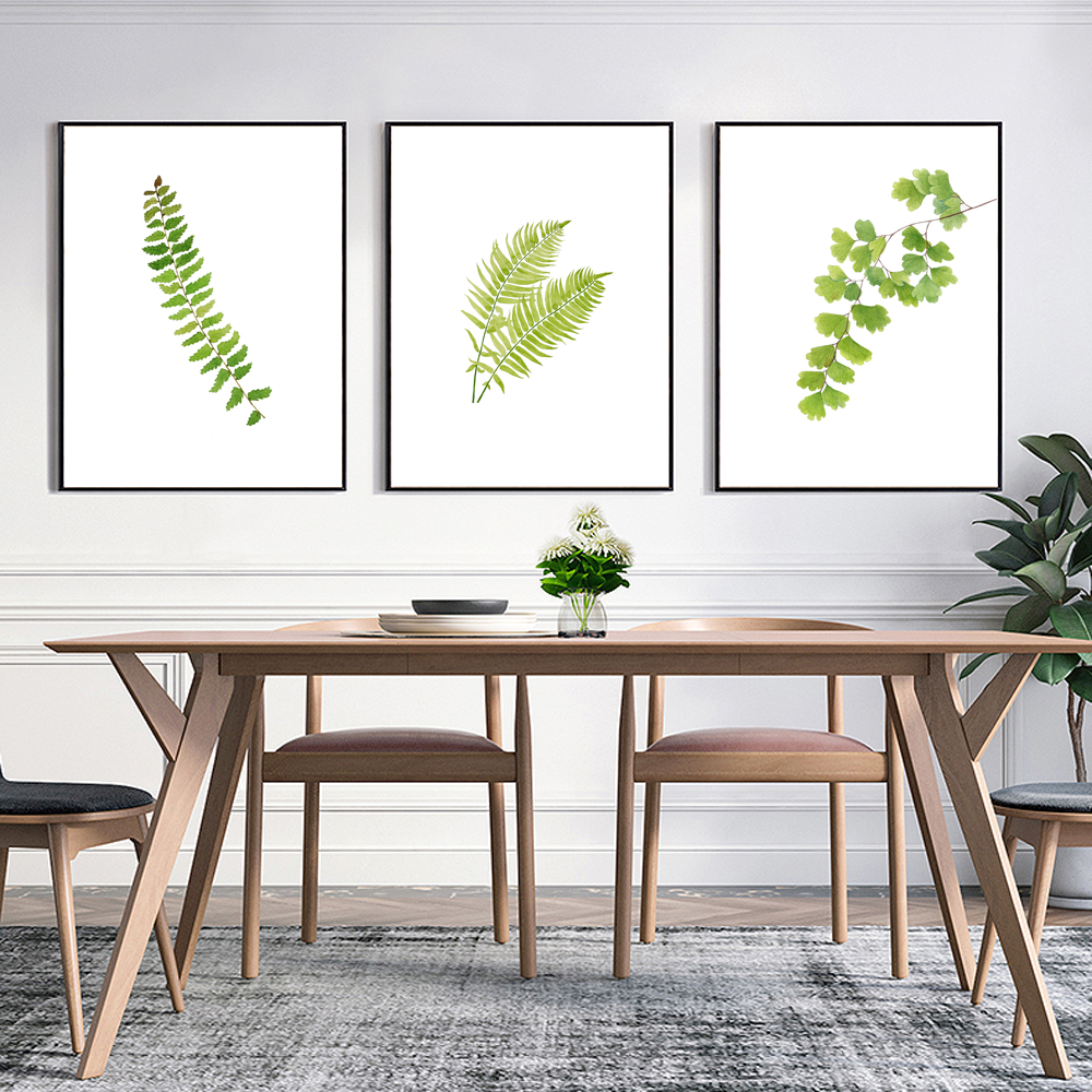 Kitchen Herb Print Green Wall Painting, Watercolor Art Decor, Gift ...