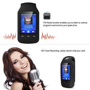 Image 5 - Portable Mini Clip 8GB MP3 Player HOTT 1037 Sport Pedometer Bluetooth FM Radio w/TF Card Slot Stereo Music Player 1.8 LCD Screen