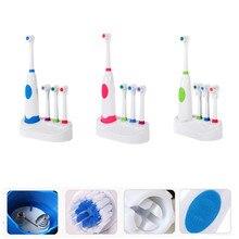 Dientes eléctrico adultos Oral Spin 4 x cabeza del cepillo cuidado Dental  conjunto dientes limpios( 992c600a4896