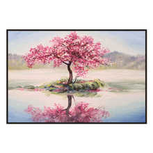 Large Wall Art Abstract Tree Painting Colorful Landscape Paintings Canvas Picture For Home Living Room Decoration Not Framed
