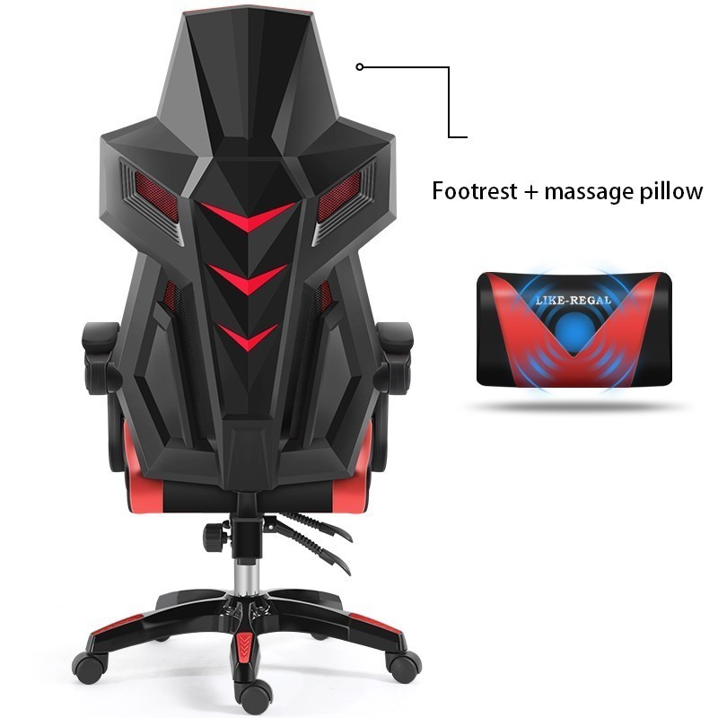 Luxury Quality Silla Gamer Esports Office Poltrona Lacework Chair With Footrest Can Lie Ergonomics Breathable Cushion Furniture