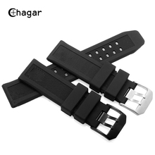 Soft Silicone Rubber Watch Strap 22mm 23mm Military Diving Sports Band Bracelet For Luminox Accessories Mens