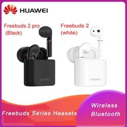 Original Huawei FreeBuds 2/2Pro Hand-Free Earphone with Bluetooth 5.0 Bone Voiceprint ID IP54 Waterproof for Huawei Mate