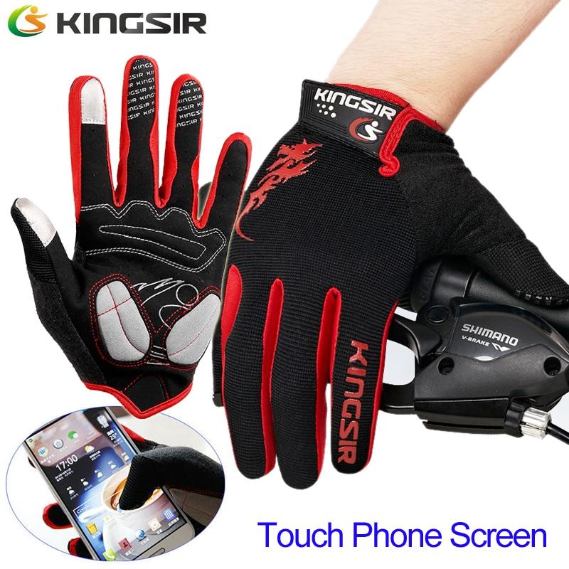 м/л/xl мотоцикла racing мото перчатки полный finger зимние велосипед велоспорт перчатки теплые бесплатная доставка